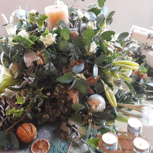 flowers for Christmas events